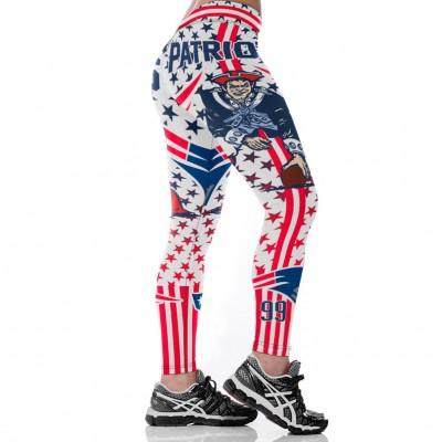 NFL New England Patriots Women Leggings 3