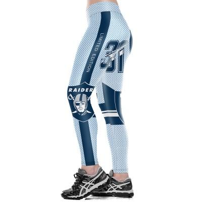 NFL Oakland Raiders Women Leggings 1