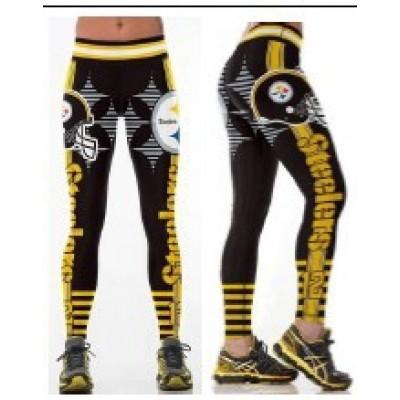NFL Pittsburgh Steelers Women Leggings 1
