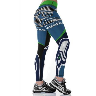 NFL Seattle Seahawks Women Leggings 4