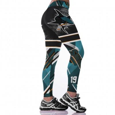 NHL San Jose Sharks Women Leggings