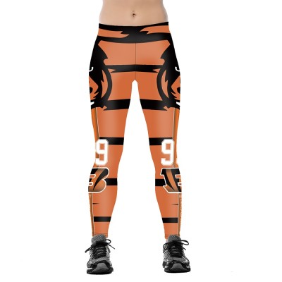 NFL Cincinnati Bengals Women Leggings 3