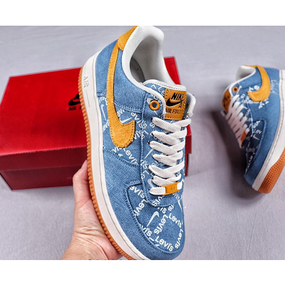 ?Levis x Nike Air Force 1  LOW AF1 Shoes