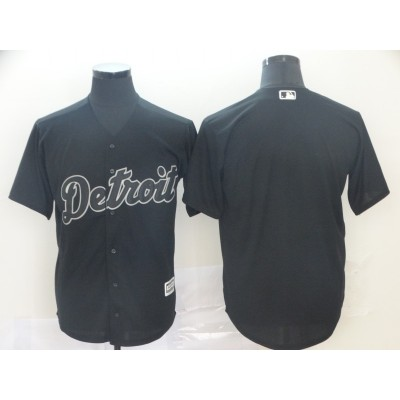 MLB Tigers blank Black 2019 Players Weekend Player Men Jersey