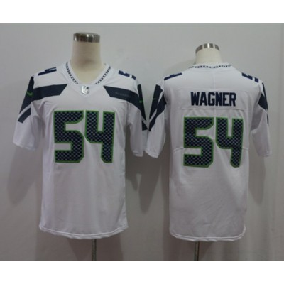 Nike Seahawks 54 Bobby Wagner White Vapor Untouchable Limited Men Jersey