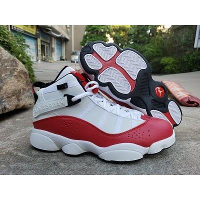 AIR jordan Six RINGS 6 White Red SHOES