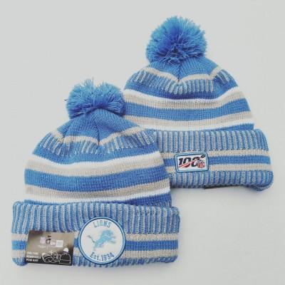 NFL Detroit Lions 100th Knit Hat