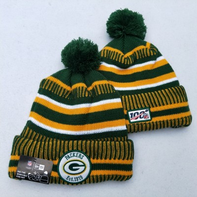 NFL Green Bay Packers 100th Knit Hat