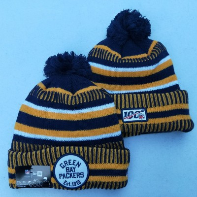 NFL Green Bay Packers 100th Knit Hat 2