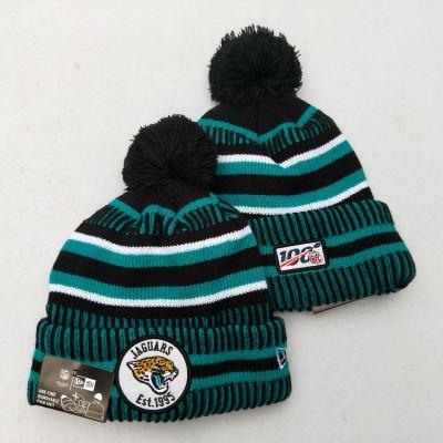 NFL Jacksonville Jaguars 100th Knit Hat