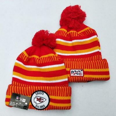 NFL Kansas City Chiefs 100th Knit Hat