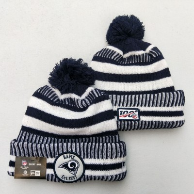 NFL Los Angeles Rams 100th Knit Hat