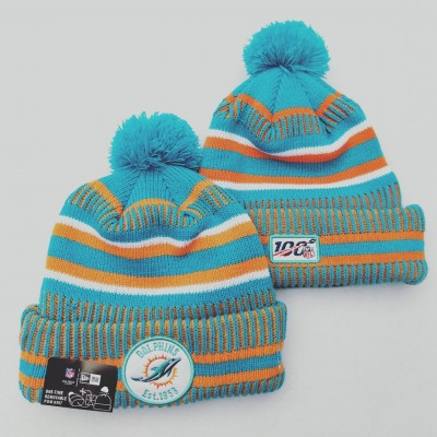 NFL Miami Dolphins 100th Knit Hat
