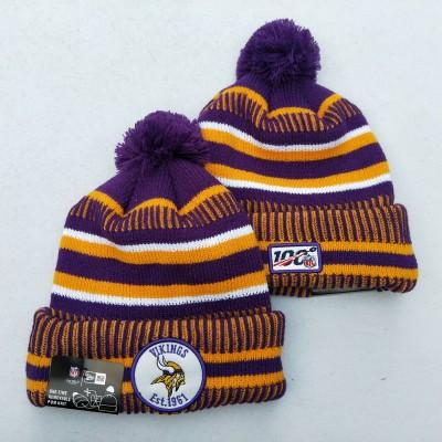 NFL Minnesota Vikings 100th Knit Hat