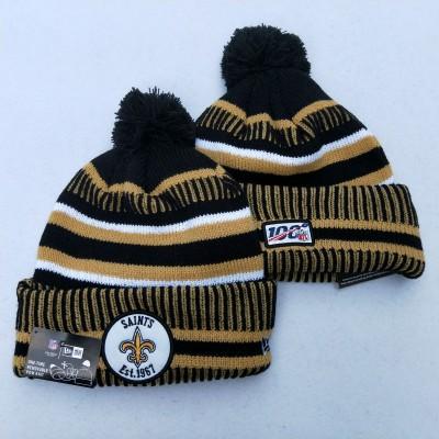 NFL New Orleans Saints 100th Knit Hat