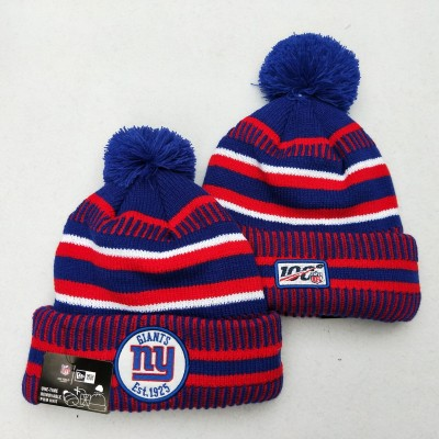 NFL New York Giants 100th Knit Hat