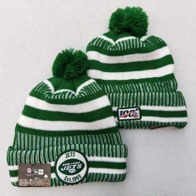 NFL New York Jets 100th Knit Hat