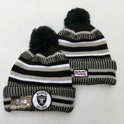 NFL Oakland Raiders 100th Knit Hat