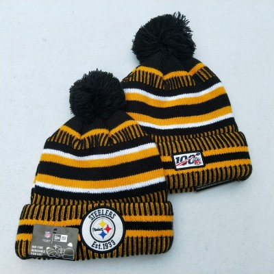 NFL Pittsburgh Steelers 100th Knit Hat
