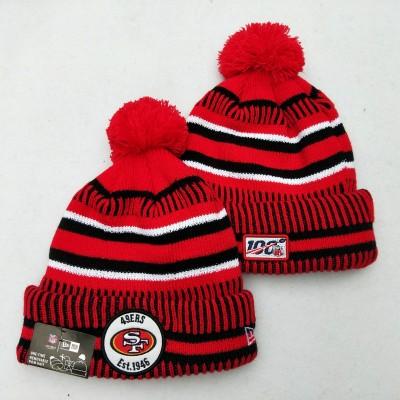 NFL San Francisco 49ers 100th Knit Hat