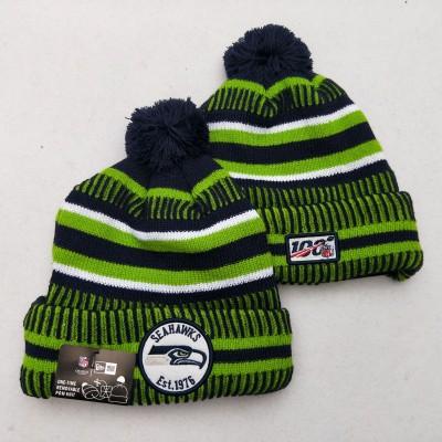 NFL Seattle Seahawks 100th Knit Hat