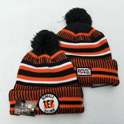 NFL Cincinnati Bengals 100th Knit Hat
