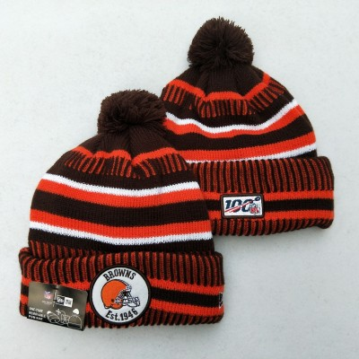 NFL Cleveland Browns 100th Knit Hat