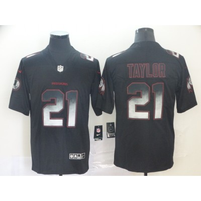 Washington Redskins 21 Sean Taylor Black 2019 Smoke Fashion Limited Men Jersey