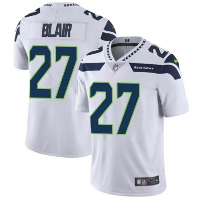 Nike Seattle Seahawks 27 Marquise Blair Vapor Untouchable Limited White Men Jersey