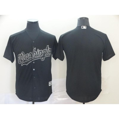 MLB Washington Nationals 2019 weekend Blank Men jersey