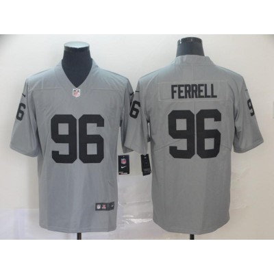 Nike Raiders 96 Clelin Ferrell Inverted Legend Limited Jersey