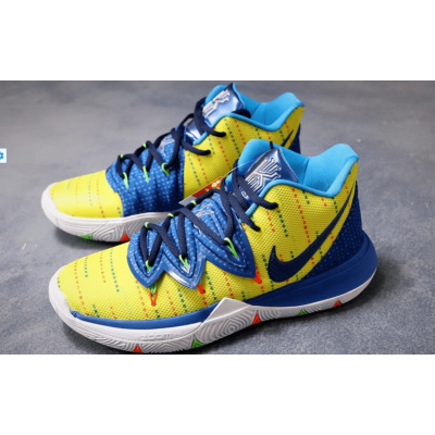 Nike KYRIE 2 Yellow Blue Shoes