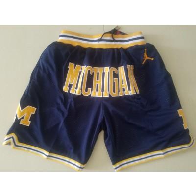 NCAA Michigan Wolverines Just don Shorts