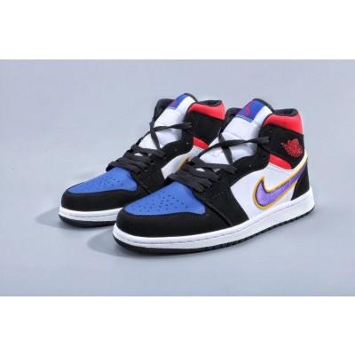 Air Jordan 1 Mid Lakers Shoes