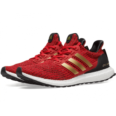 ADIDAS ULTRA BOOST X GAME OF THRONES W SCARLET Gold Shoes