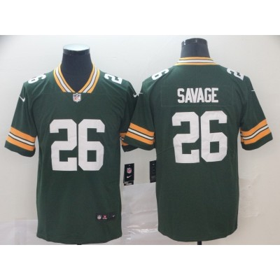 Nike Packers 26 Darnell Savage Jr. Green 2019 NFL Draft Vapor Untouchable Limited Men Jersey