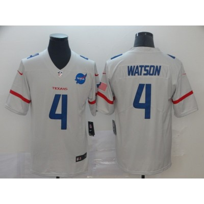 NFL Texans 4 Deshaun Watson City Edition White Jersey