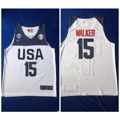 2019 World Cup USA 15 Walker Jersey