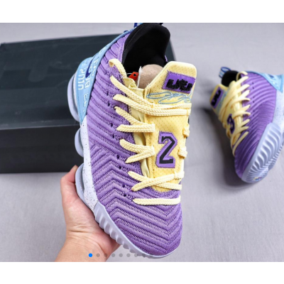 Nike Lebron XVI Lakers Shoes