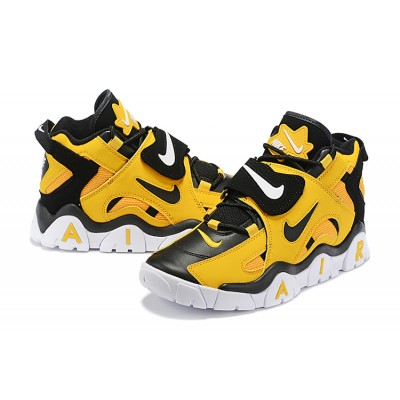 Nike Air Foamposite Yellow Black Shoes
