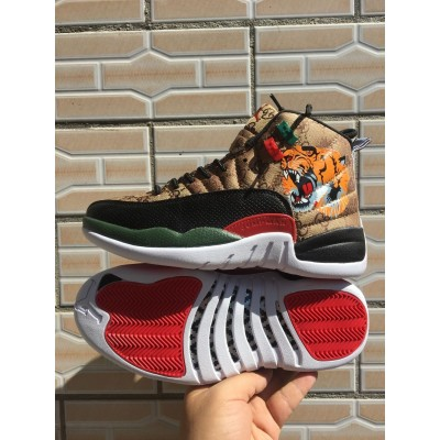Air Jordan 12 Tiger Shoes