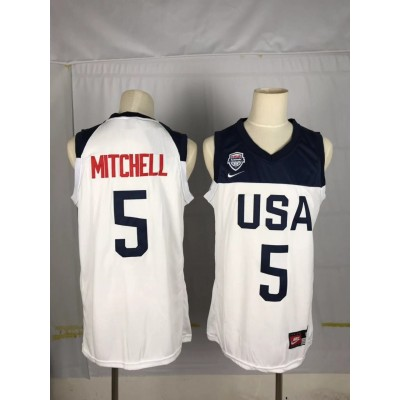 2019 World Cup USA 5 Mitchell jersey