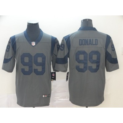 Nike Rams 99 Aaron Donald Inverted Legend Limited Men Jersey