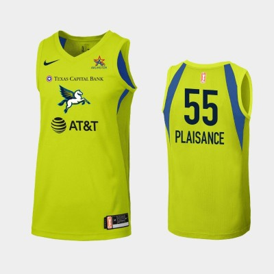 WNBA Dallas Wings Theresa Plaisance Green 2019 Secondary Statement Jersey