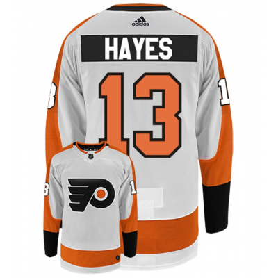 NHL Flyers 13  Kevin Hayes White Adidas Men Jersey