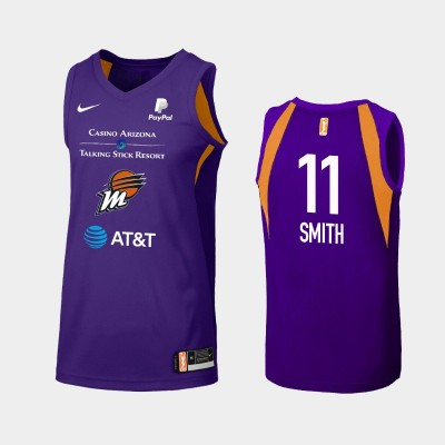 WNBA Phoenix Mercury Alanna Smith Purple 2019 Primary Icon Jersey
