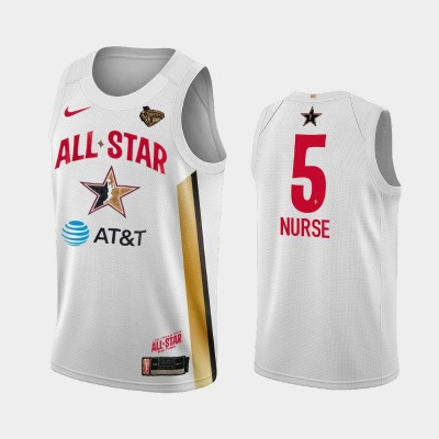 WNBA New York Liberty Kia Nurse White 2019 All-Star Game Jersey