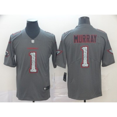 Nike Cardinals 1 Kyler Murray Gray Static Vapor Untouchable Limited Men Jersey