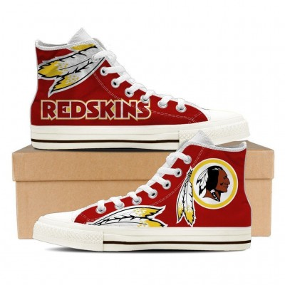 NFL Washington Redskins Repeat Print High Top Sneakers