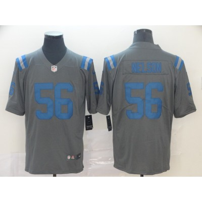 Nike Colts 56 Quenton Nelson Inverted Legend Limited Men Jersey